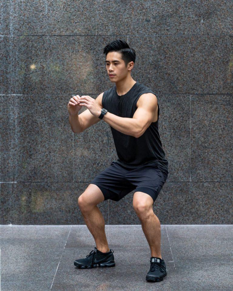 James Wong Squat