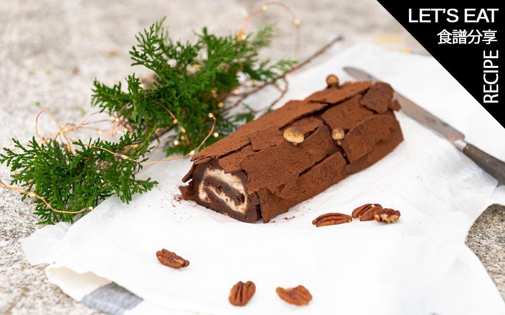Spiced Chocolate Buche de Noel WELL LET'S EAT Recipe