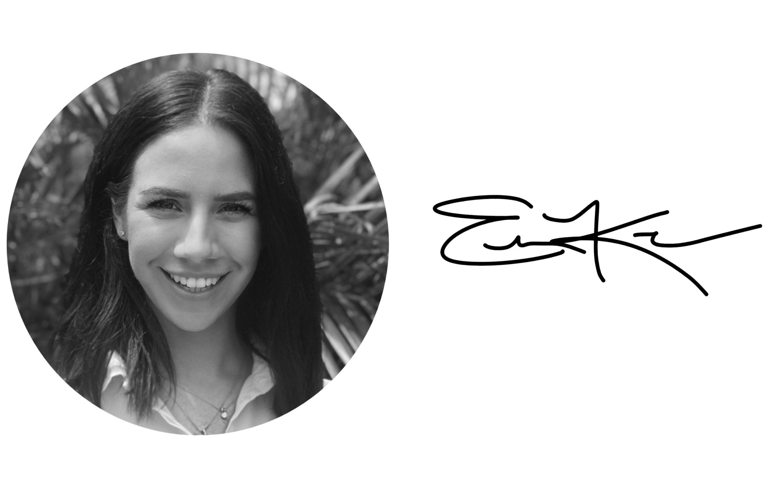 Emily Kelleher headshot black and white
