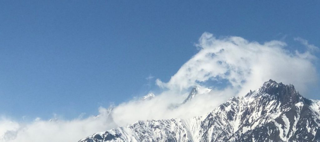 Clouds of Hope The Unexpected Rewards of Travelling Solo mountains sky