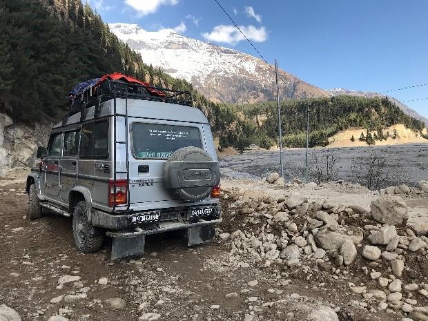 Mustang nepal Jeep