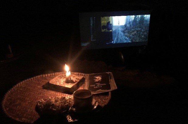 Open air Cinema in Pokhara