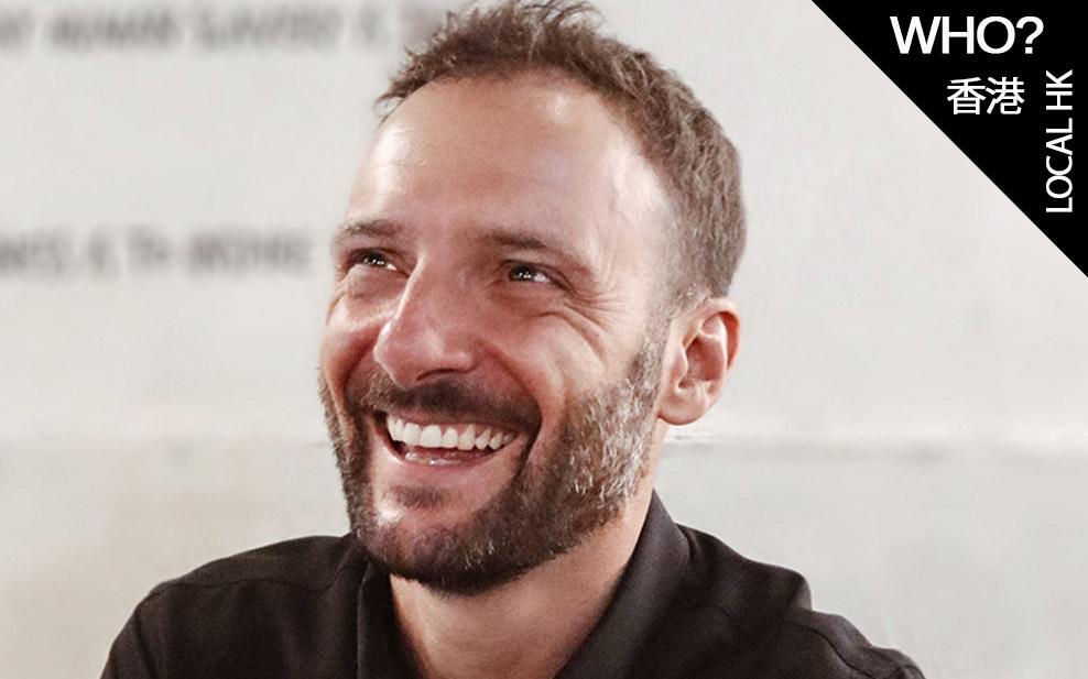 Mindful Mindset with Olivier Courret Hong Kong triathlon champion smile man