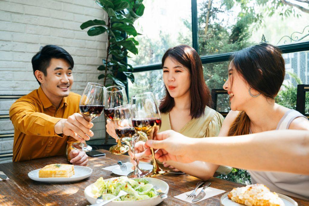 Beginner's Guide to Understanding Wine Ganymede Asia friends dinner food and wine