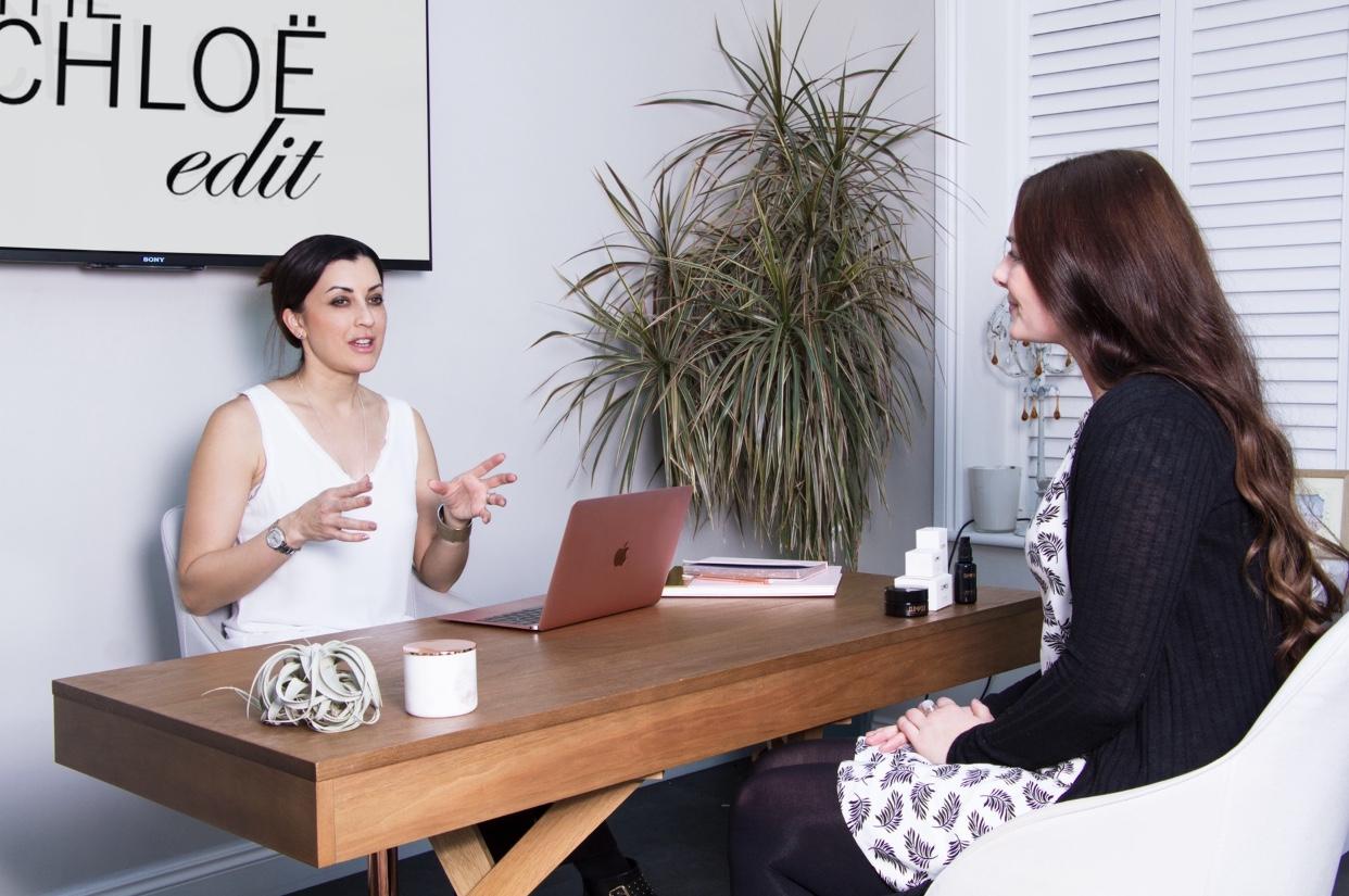 Dr. Chloe Butler clean beauty and wellness guru