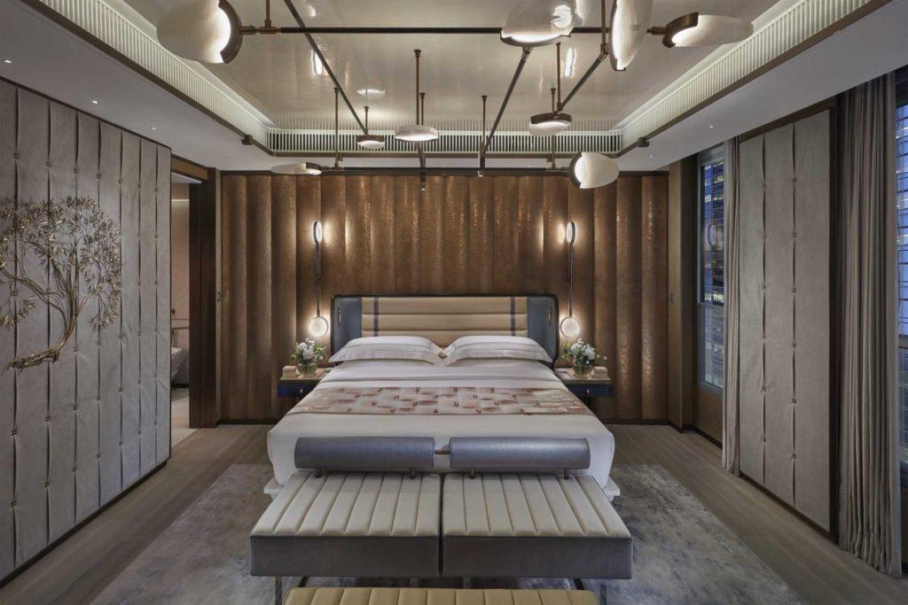 Lamdmark Oriental hong Kong staycation hotel room