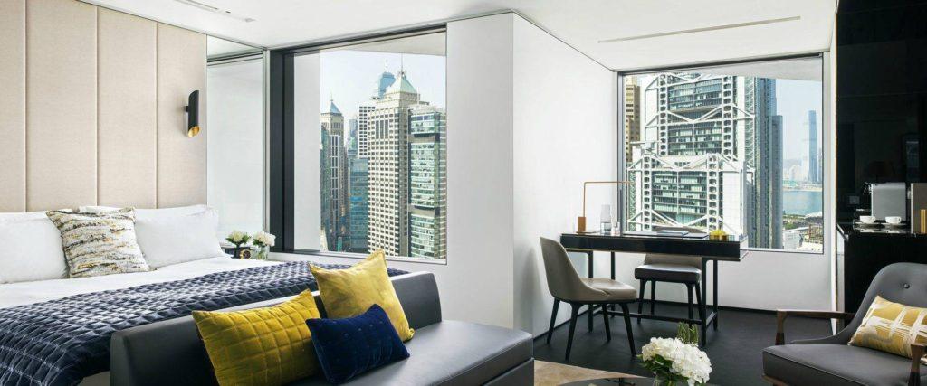 The Murray Hong Kong Staycation holiday hotel room hong kong view