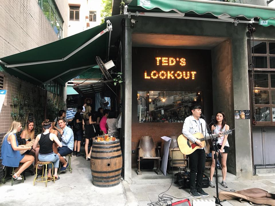 ted's lookout wan chai happy hour