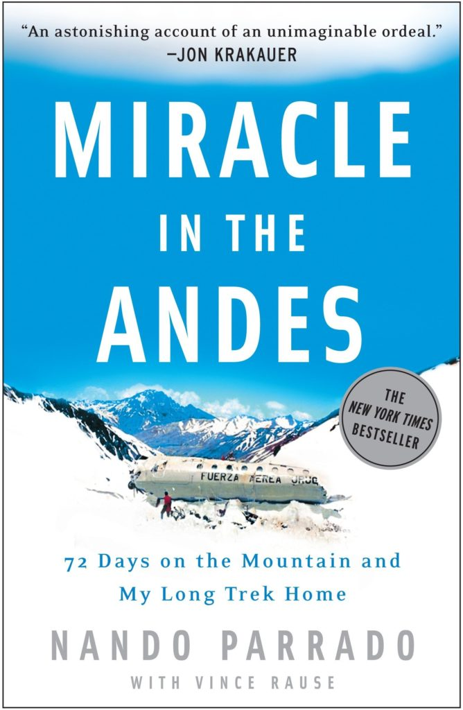 5 Inspirational Summer Reads for Men miracle in the andes
