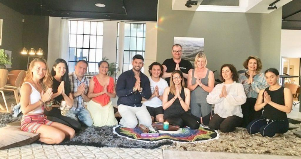 Dino Hira Meditaion Session at Bo Concept Melbourne