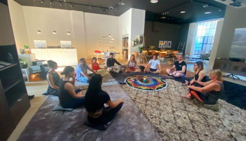 Dino Hira Modern Yogi Co. Bo Concept Meditations Session Melbourne