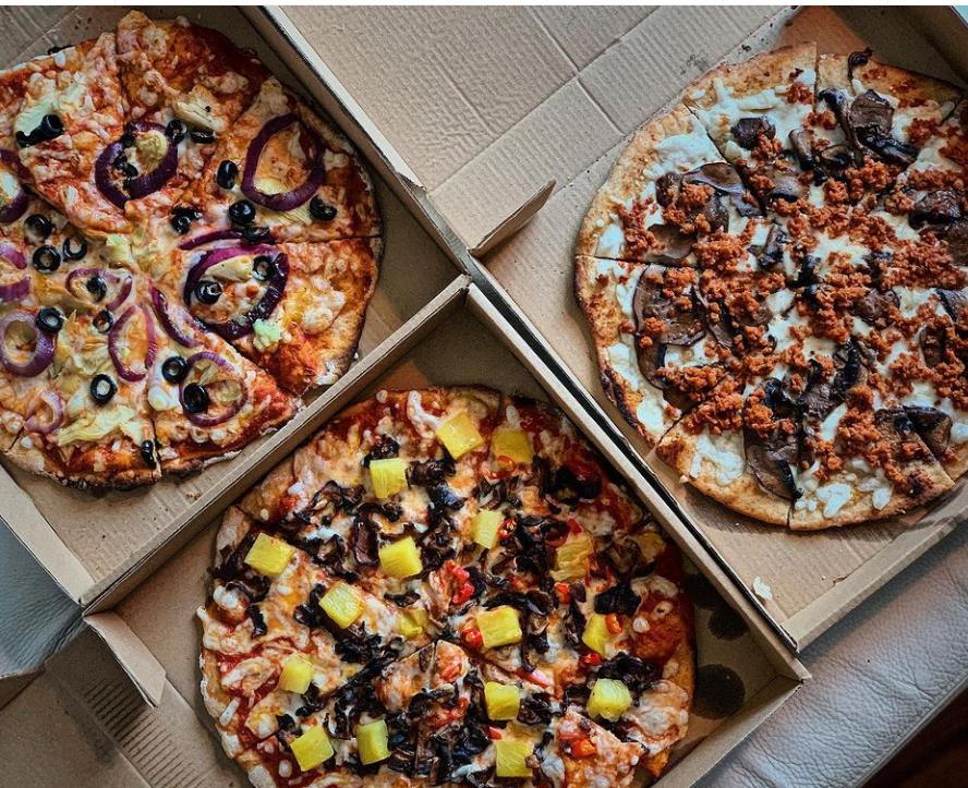 Vegan Sourdough Pizzas Hong kong