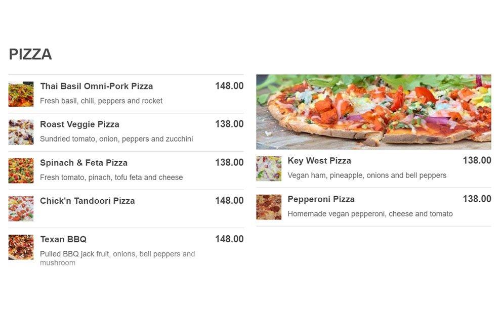 Vegan Pizza Hemingways DB Hong Kong WELL LET'S EAT Dining out