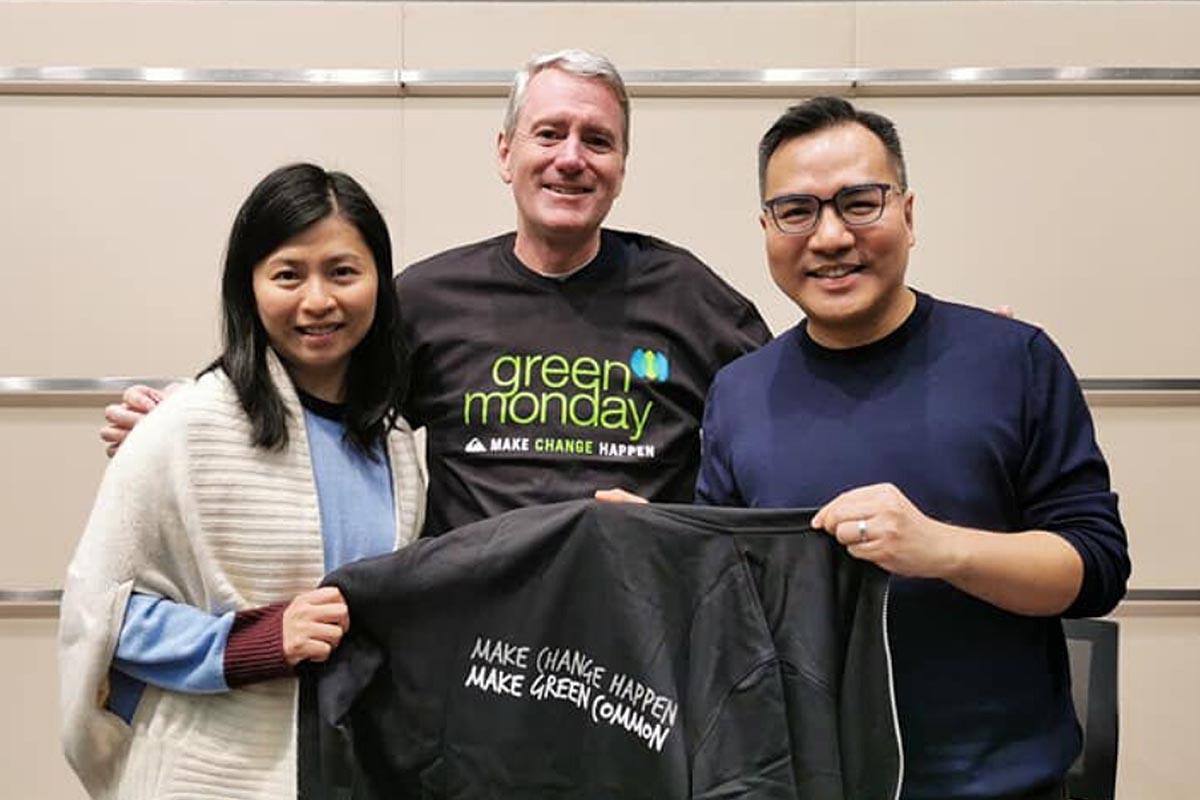 David Yeung 2019 John Wood sharing on Working for Purpose 2 with Jenny Ng GM's ED