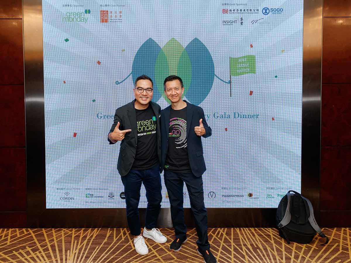 David Yeung and Francis 2019