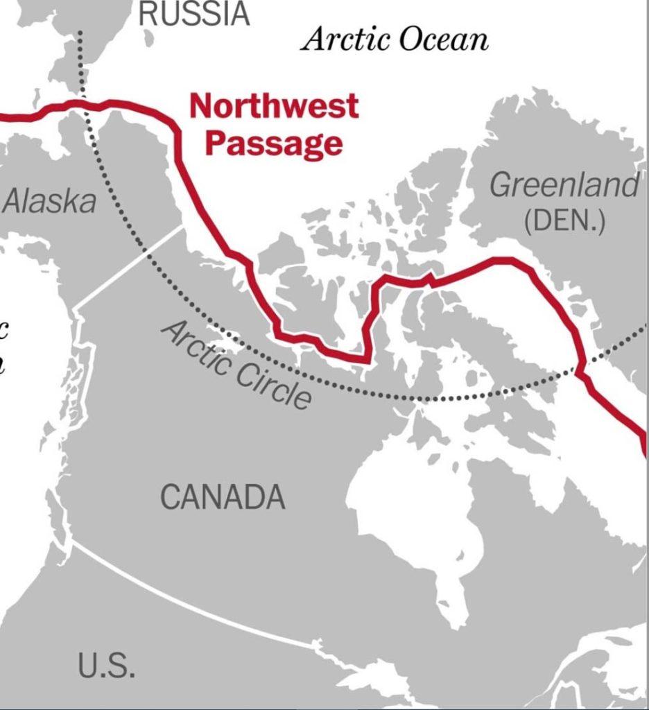 Mark Agnew Atlantic in 2018 NWP map
