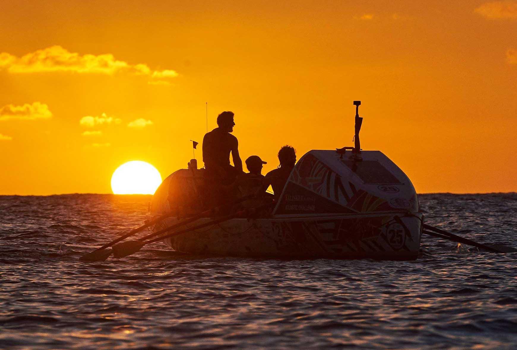 Mark Agnew Team Tyne Innovation, rowing the Atlantic in 201819s