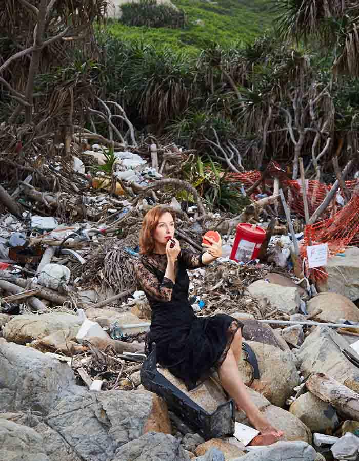 tanja wessels alex marco rocks trash plastic
