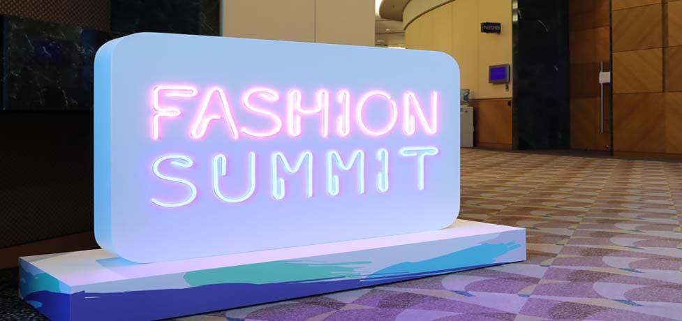 Fashion summit sign HKCEC