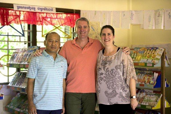 John Wood and his co-founders Dinesh Dinesh Shrestha and Erin Ganju