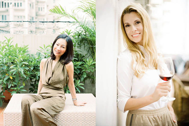 Co-founders Amy and Christina - TOASST