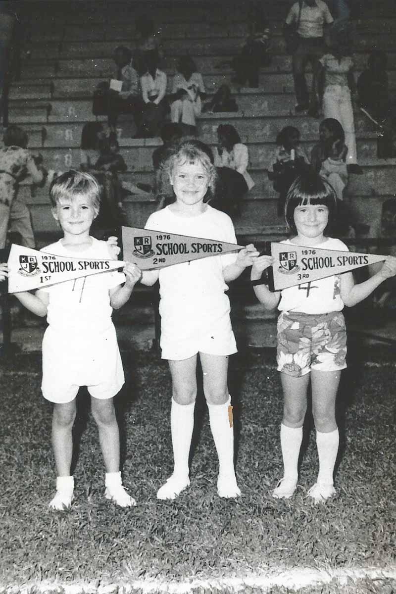 Andy Kennedy Road Junior School circa 1976