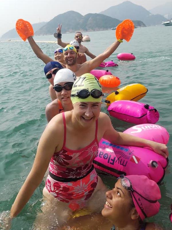 Open Water Swimming hk sport