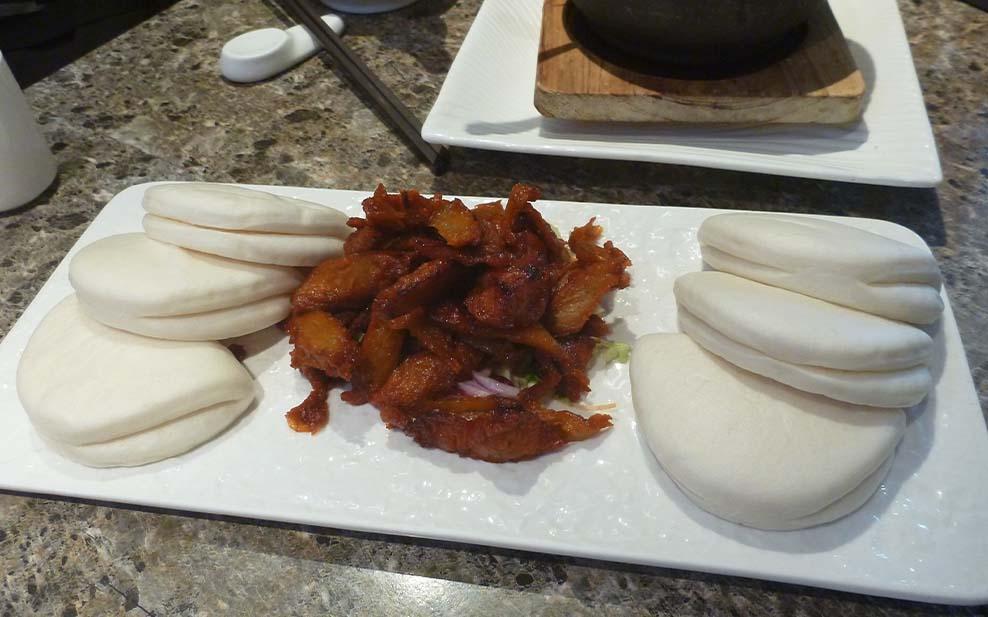 Vegetarian barbeque pork