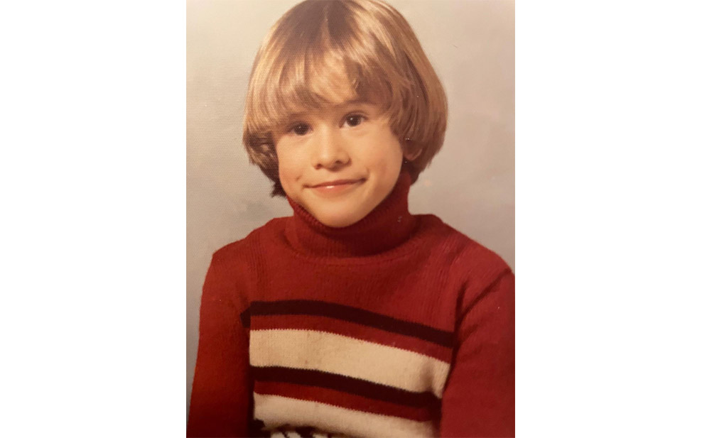 Jean-Marc Champagne as a 6 year old